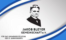 Innere und äußere Erneuerung im deutschen Nationalitätenverein Jakob Bleyer Gemeinschaft