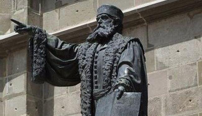 Ungarndeutsches Pantheon (I) : Johannes Honterus