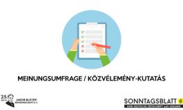 Rund zwei Drittel der Ungarndeutschen hält das aktuelle Wahlsystem für diskriminativ