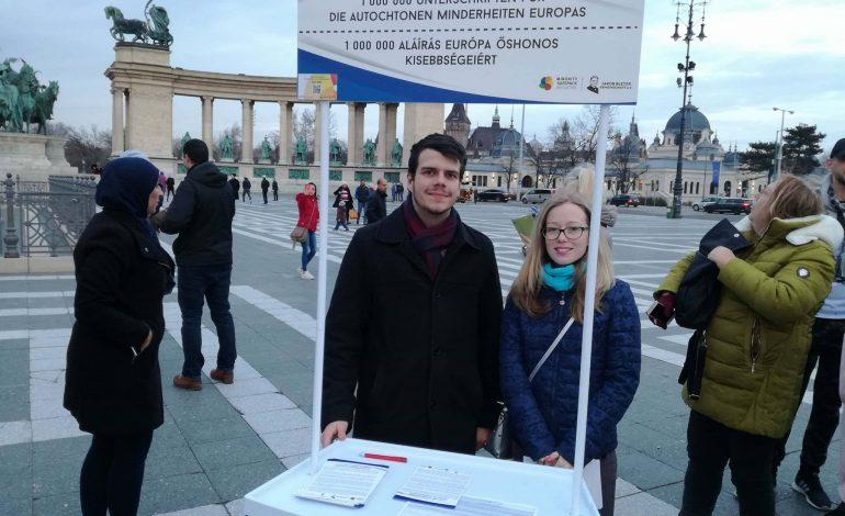 Flashmob zu den Wahlen und der Minority Safepack-Initiative