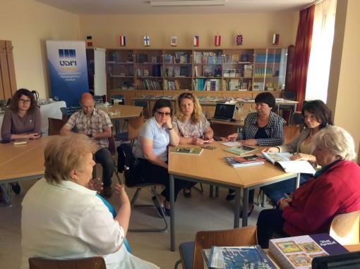 Delegation der Russlanddeutschen informierte sich über das ungarndeutsche Bildungswesen