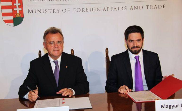 Ungarn und das Burgenland unterzeichneten eine politische Erklärung