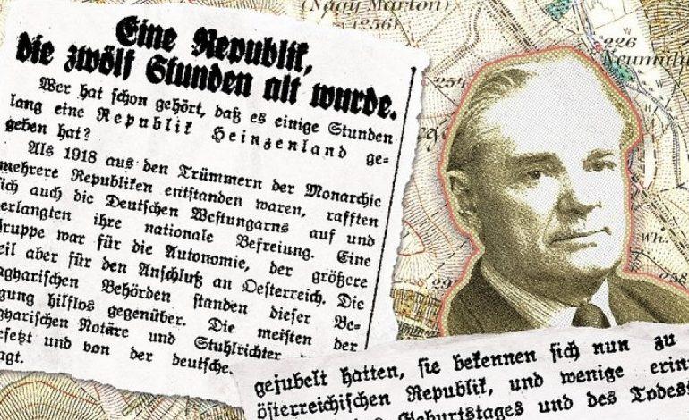 Vor 100 Jahren: Die Gründung der 'Republik Heinzenland' in Westungarn