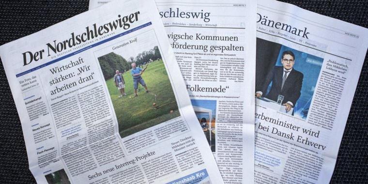 Die Zeitung der Deutschen in Dänemark, der 'Nordschleswiger' wird digital