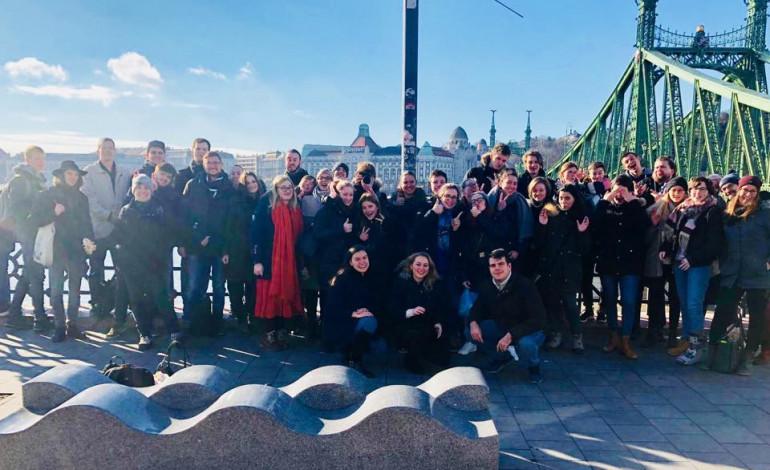 Silvesterbegegnung der GJU und der Jungen Aktion in Budapest