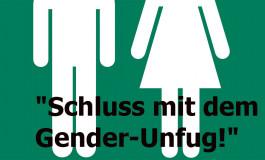 """Unterschriftenaktion und Aufruf gegen """"Gender-Unfug"""""""