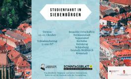 """""""Auf den Spuren von Honterus"""" - JBG-Studienfahrt in Siebenbürgen"""