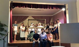 Theaterstück über die Ansiedlung  der Donauschwaben in Ahlaß/Olasz