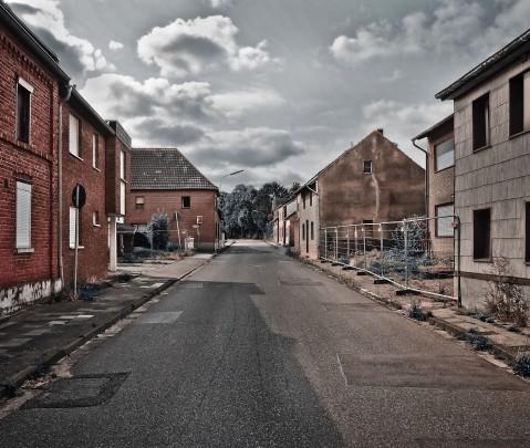 Um verlassene deutsche Dörfer zu finden muss man nicht nach Siebenbürgen fahren